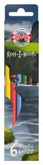 Карандаши цветные DINO 3591, 6 цветов