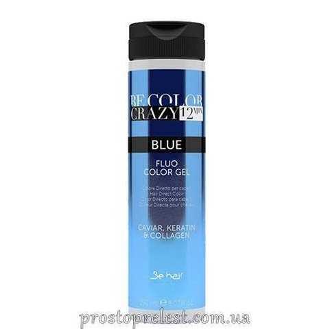 Be Color Crazy 12 Minute Fluo Color Gel Blue - Барвник прямої дії Синій