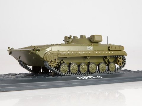 Armored personnel carrier PRP-4 Our Tanks #32 MODIMIO Collections 1:43