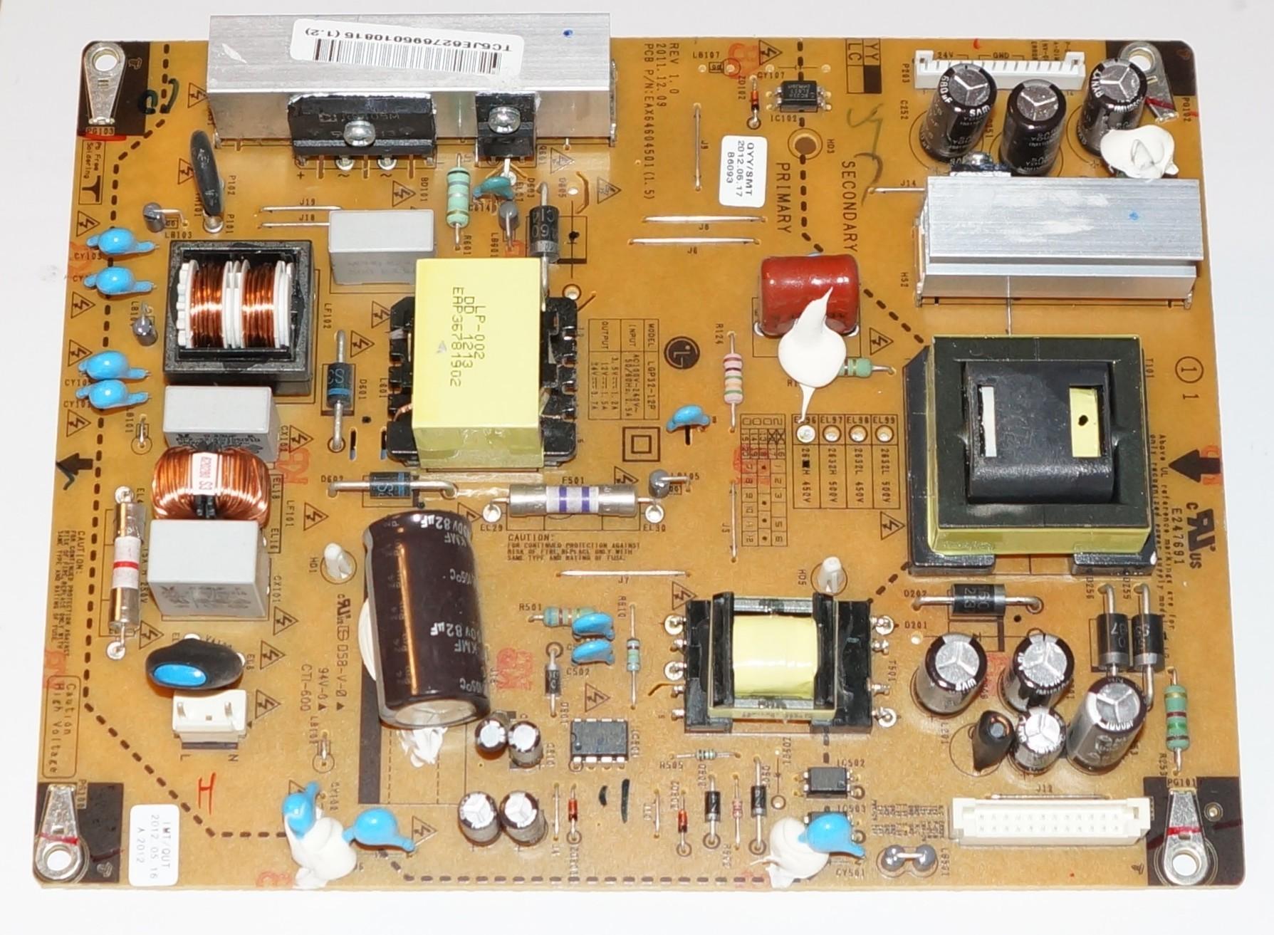 EAX64604501(1.5) lgp32-12p купить