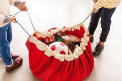 Коврик-мешок для игрушек (2 в 1) Play&Go Classic КРАСНЫЙ 79950
