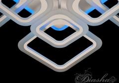 A8060/4+4 Потолочная светодиодная люстра с пультом и подсветкой 145W