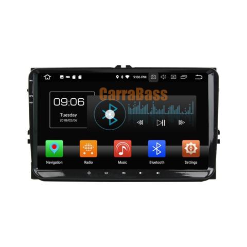 Магнитола для Volkswagen/Skoda Android 8.0 2/16GB IPS DSP модель KD-9613P5