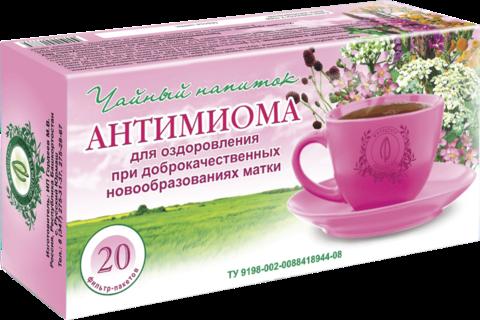 Чайный напиток «АНТИМИОМА», ф/п, 20 шт, кор. (ИП Гордеев М.В.)