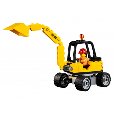 LEGO City: Уборочная техника 60152 — Sweeper & Excavator — Лего Сити Город