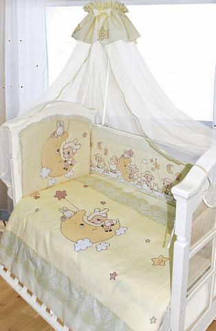 Комплект в кроватку 7 пр.