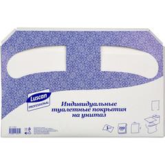 Одноразовые покрытия на унитаз Luscan Professional (10 упаковок по 200 штук)