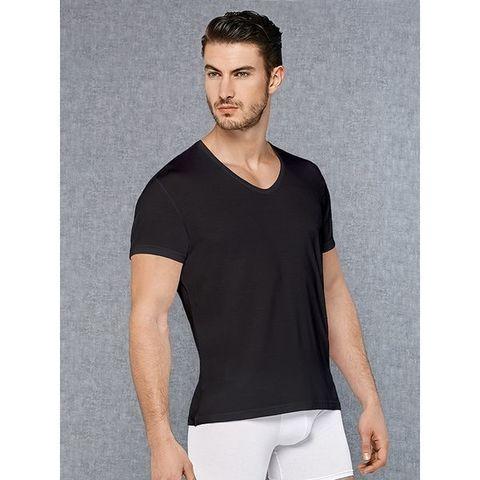 Мужская футболка черная Doreanse 2865