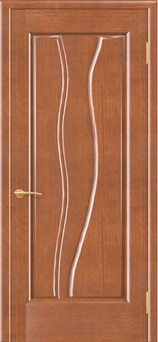Дверь Иллюзион (анегри светлый, глухая шпонированная), фабрика Покрова