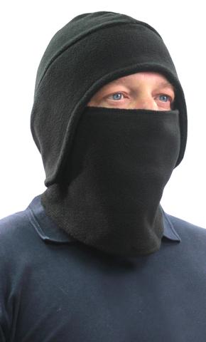 Шапка- маска Снегоход тк.Флис цв. Черный