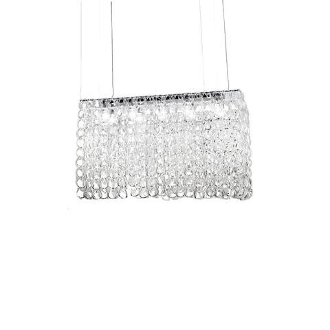 Подвесной светильник Giogali SP RE2 by Vistosi (прозрачный)