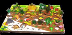 Развивающая доска Овощи на грядке, Нескучные игры