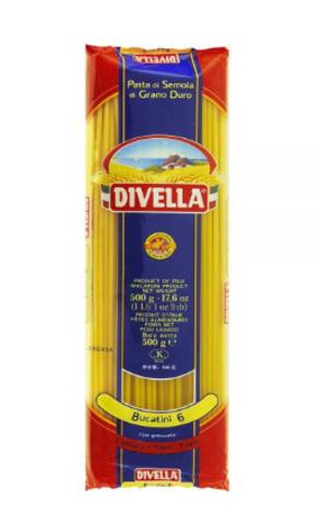 Паста БУКАТИНИ Divella 500 г