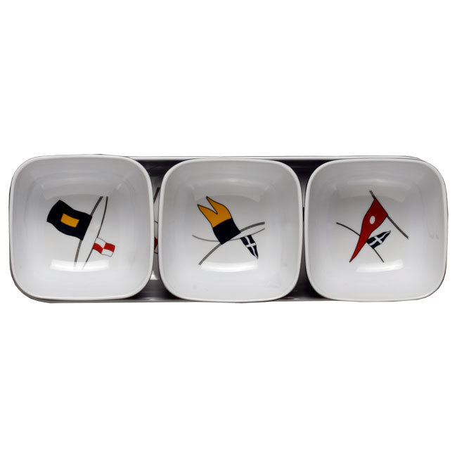MELAMINE SNACKS SET, REGATA