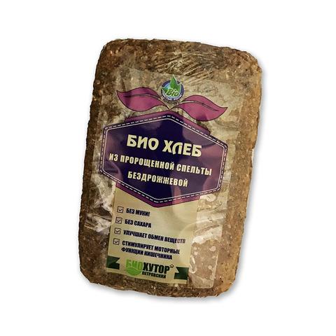 Хлеб ц/з ТОНУС из пророщенной спельты, 500 гр. (БиоХутор Петровский)