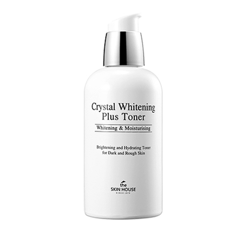 THE SKIN HOUSE CRYSTAL WHITENING PLUS TONER  Отбеливающий тонер 130ml