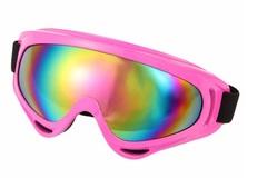 Горнолыжная маска №3 розовая