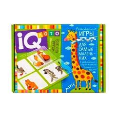 IQ лото для малышей Угадай кто это, найди половинку Айрис Пресс