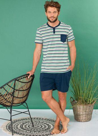 Пижама мужская с шортами KEY MNS 364 A20
