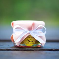 Бонбоньерка с медом на свадьбу, 35 грамм