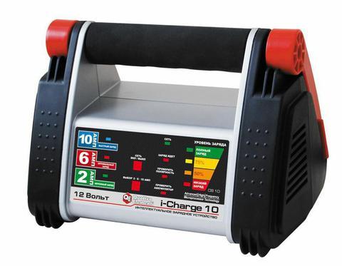 Зарядное устройство QUATTRO ELEMENTI i-Charge 10 (12В, 10/6/2 А) полный автомат (771-152)