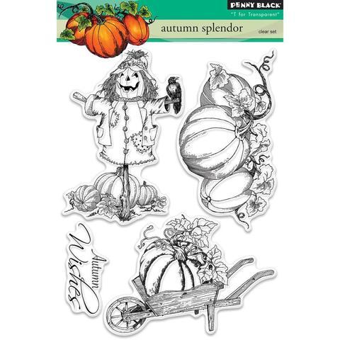Набор штампов  Autumn Splendor