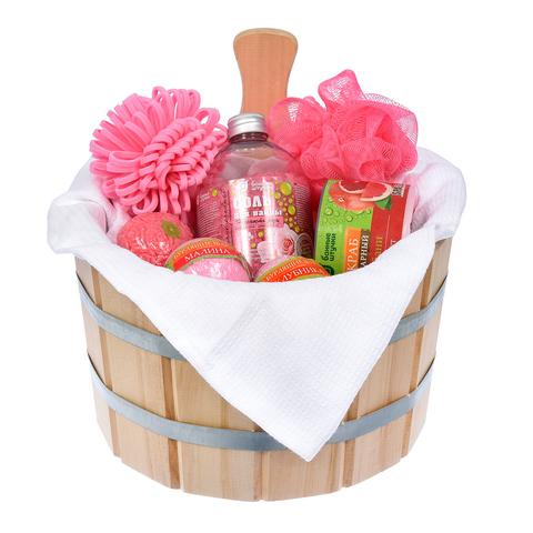 Подарочный Банный набор «Ягодный лифтинг» 9 предметов