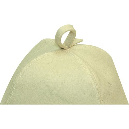 Классическая банная шапка