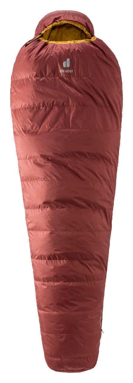 Пуховые спальники Спальник Deuter Astro 300 L 3° (2021) 3711121-5908-Astro300L-redwood-curry-D-00.jpg