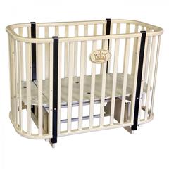 Кровать детская Антел Светлана-2 слоновая кость