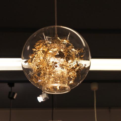 Подвесной светильник Tangle Globe by Artecnica (золотой)