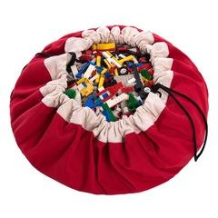 Коврик-мешок для игрушек (2 в 1) Play&Go Classic КРАСНЫЙ 79950 - 1