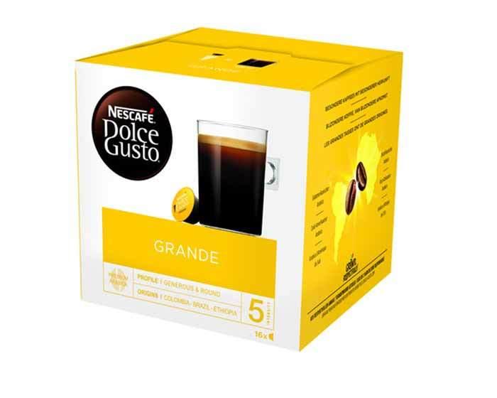 Кофе в капсулах Dolce Gusto Grande, 16 капсул