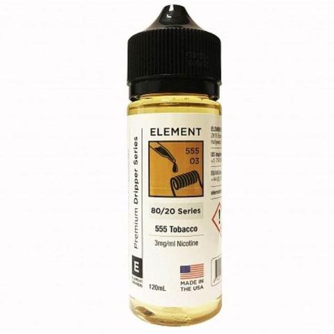 Жидкость Element 120 мл 555 Tobacco