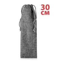 Мешочек 30 см для хранения трубочек, тканевый со шнурком для завязывания