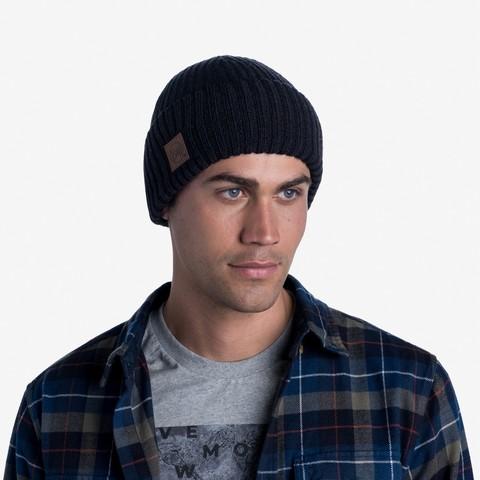 Вязаная шапка Buff Hat Knitted Rutger Graphite фото 2