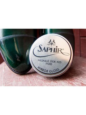 Крем для глассажа - зеркального блеска sphr1013 Saphir MIRROR Gloss MEDAILLE, 75мл. (4 цвета)
