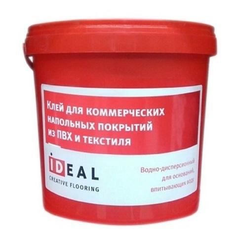 Клей Ideal для коммерческих напольных покрытий из пвх и текстиля 3л (4 кг)