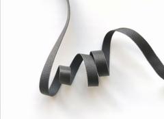 _Бретелечная резинка, без фестонов, 10мм, темно-серый, (Арт: BR640/10-2878), м