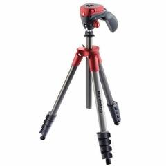 Штатив с фото- и видеоголовкой для фотокамеры Manfrotto Compact Action