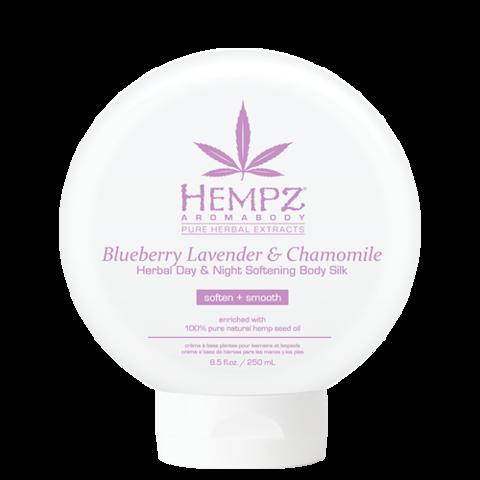 Шёлк для лица и тела смягчающий Лаванда, Ромашка и Дикие Ягоды / Hempz Blueberry Lavender & Chamomile Herbal Day & Night Softening Body Silk