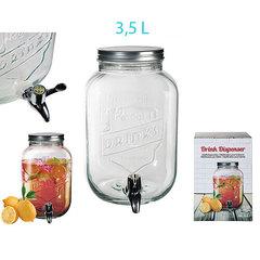 Лимонадник с винтовой крышкой, 3,5 л, фото 3