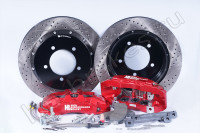 Brake system HP Brakes (Front axle, D17, 6 pistons, disc 330x32mm)
