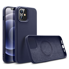Чехол ESR Halolock Cloud Soft Case with MagSafe для iPhone 12 Pro (Синий)