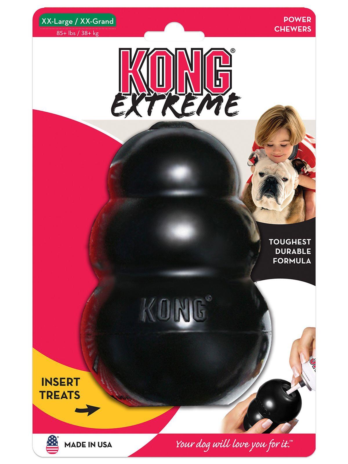Игрушки Игрушка для собак KONG Extreme XXL очень прочная самая большая 15х10 см UKKE_1.jpeg