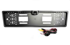 Камера в рамке номерного знака Е314 передняя LED IR
