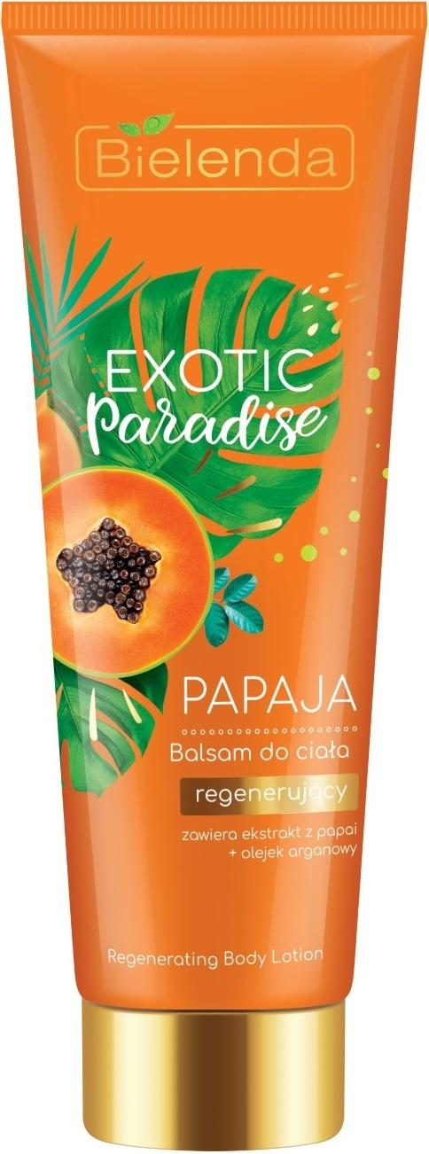 EXOTIC PARADISE Бальзам для тела восстанавливающий Папайя 250мл