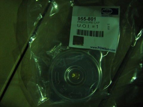 Крышка радиатора / PRESSURE CAP АРТ: 955-801