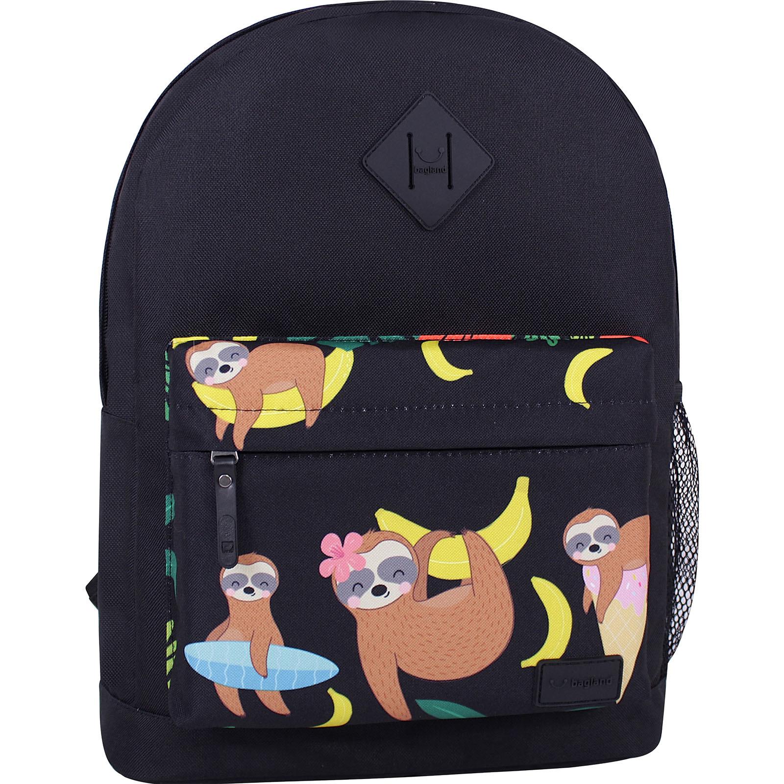 Городские рюкзаки Рюкзак Bagland Молодежный W/R 17 л. черный 774 (00533662) IMG_6836_суб.774_.JPG