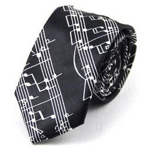 Галстук с музыкальной символикой (рис.4)